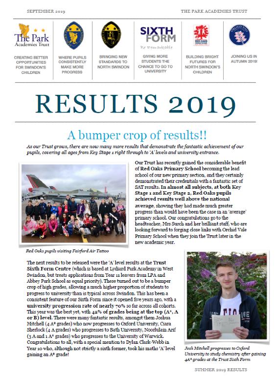 September 2019 newsletter